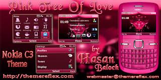 pink Download Tema Nokia C3 Gratis