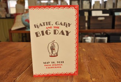 DSC 0172 Wedding invitation based on Katy and the Big Snow