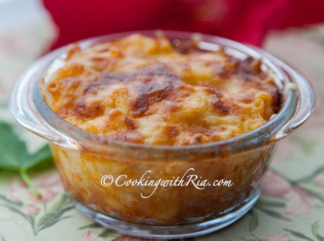 Cheesy and Creamy Trinidad Macaroni Pie