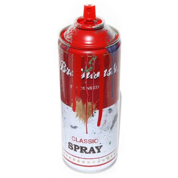 the rock poster frame blog mr brainwash spray cans release details. Black Bedroom Furniture Sets. Home Design Ideas