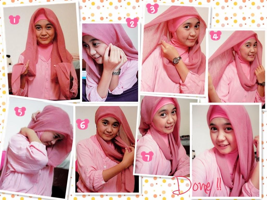 Tips Cara Memakai Hijab PraktisSederhana Dan Tetap Cantik