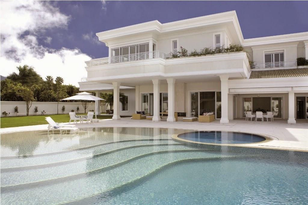 Casas em estilo neocl ssico blog jba im veis for Casa moderna classica