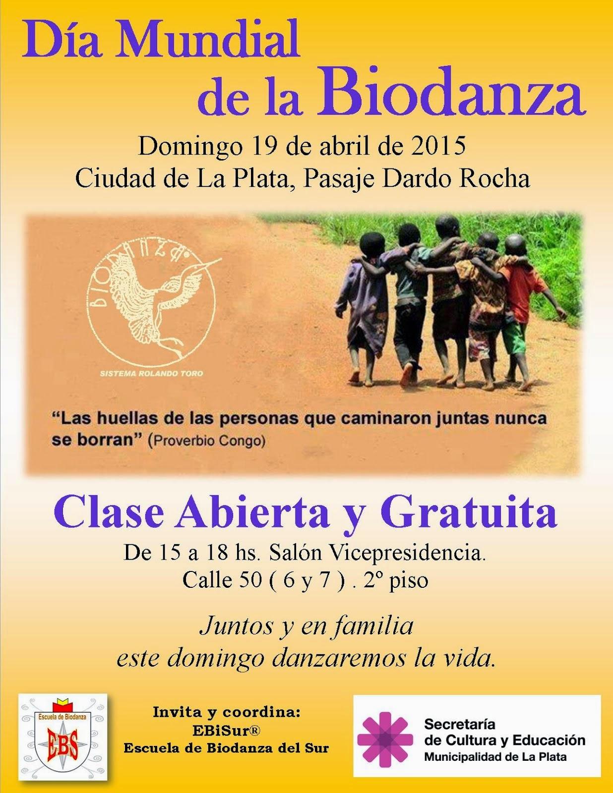 Día mundial de la Biodanza: clase abierta