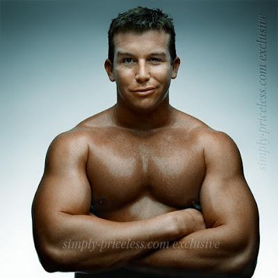 labels abs bulge chest guns pecs ted dibiase jr white men wrestler wwe