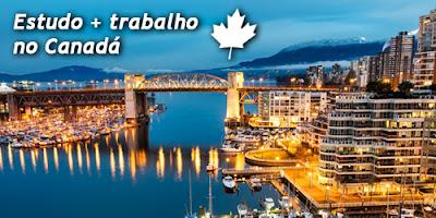 Programa de estudo e trabalho no Canadá