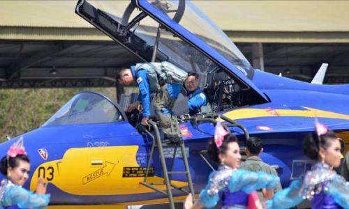 T-50i Golden Eagle tiba di Lanud Iswahjudi