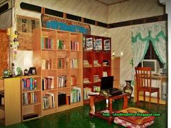 Perpustakaan mini saya.