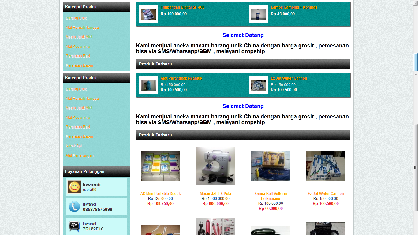 3 bisnis online ibu rumah tangga