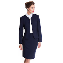 Navy Blue Business Suits for Women