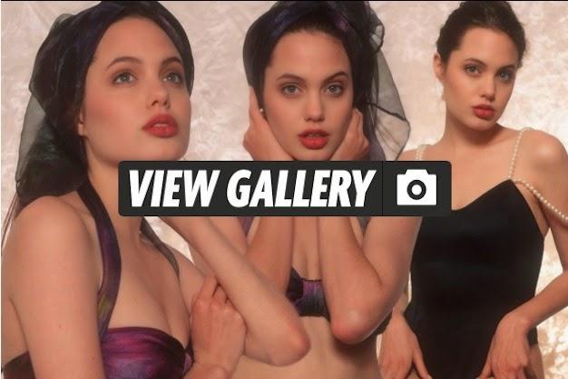 Ini Dia Foto Panas Angelina Jolie saat Masih 16 Tahun