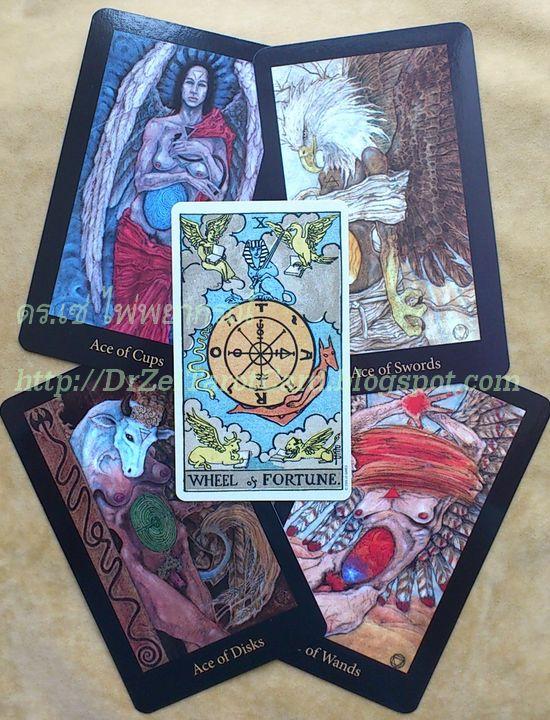 Aces Evangelist Mary El Tarot cards Marie White Angel Ace Wheel of Fortune The World Four Suits ไพ่ไมเนอร์ Minor ไพ่เอซ ไพ่ Ace ไพ่ยิปซี ไพ่ทาโร่ ไพ่ทาโรต์วีลออฟฟอร์จูน ไพ่เดอะเวิร์ลด เดอะเวิรลด์ ไพ่เดอะวีล ไพ่กงล้อชะตากรรม ไพ่วงล้อโชคชะตา เทพเจ้า เทพพิทักษ์ เทพผู้พิทักษ์ มหาเทพ เทวทูต
