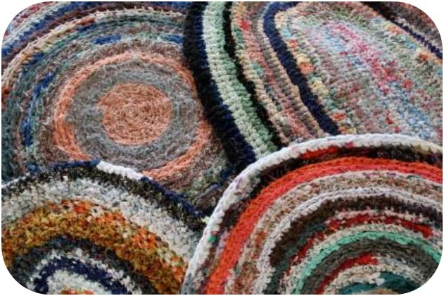 Free Crochet Patterns For Rag Rugs : sister outlaws: Bubble and Squeak.