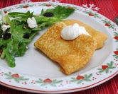 December - Potato Blintzes