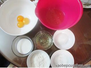 Cách làm bánh cupcake nhân kem chanh leo 2