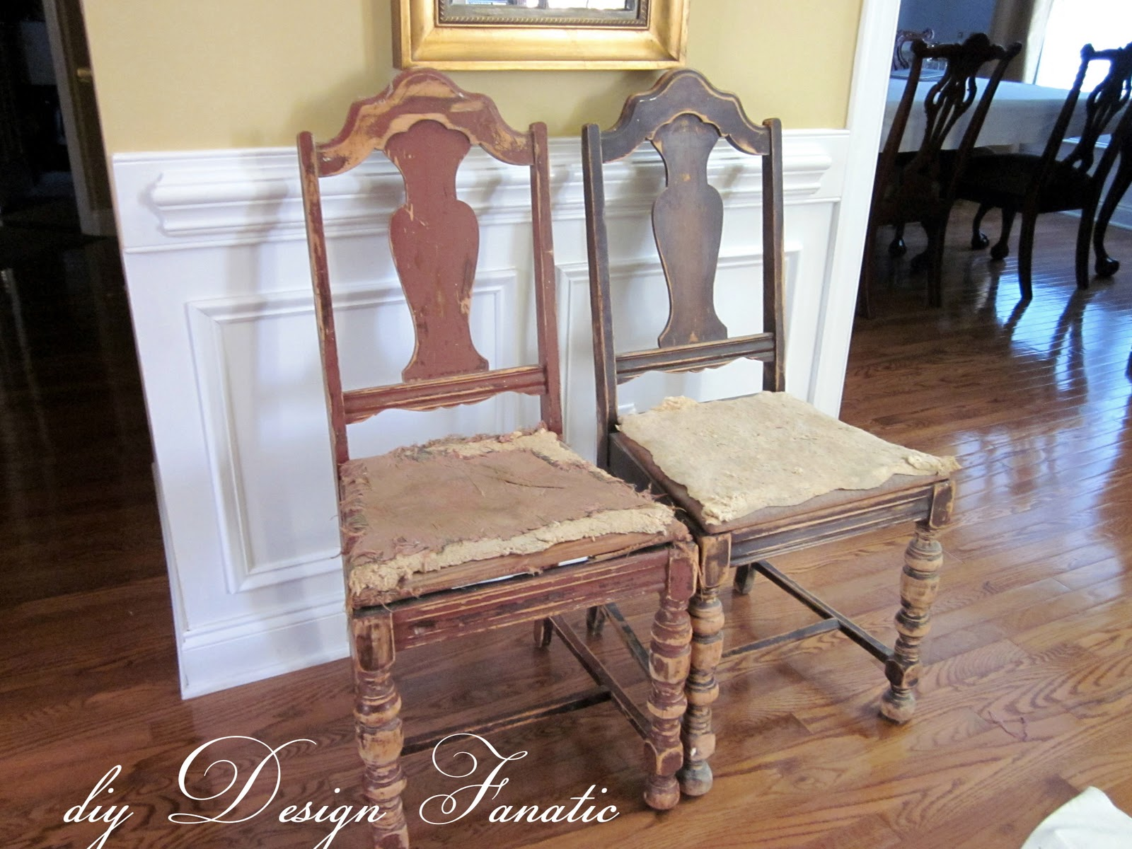 Diy Design Fanatic Do It Yourself Project Antique Chair