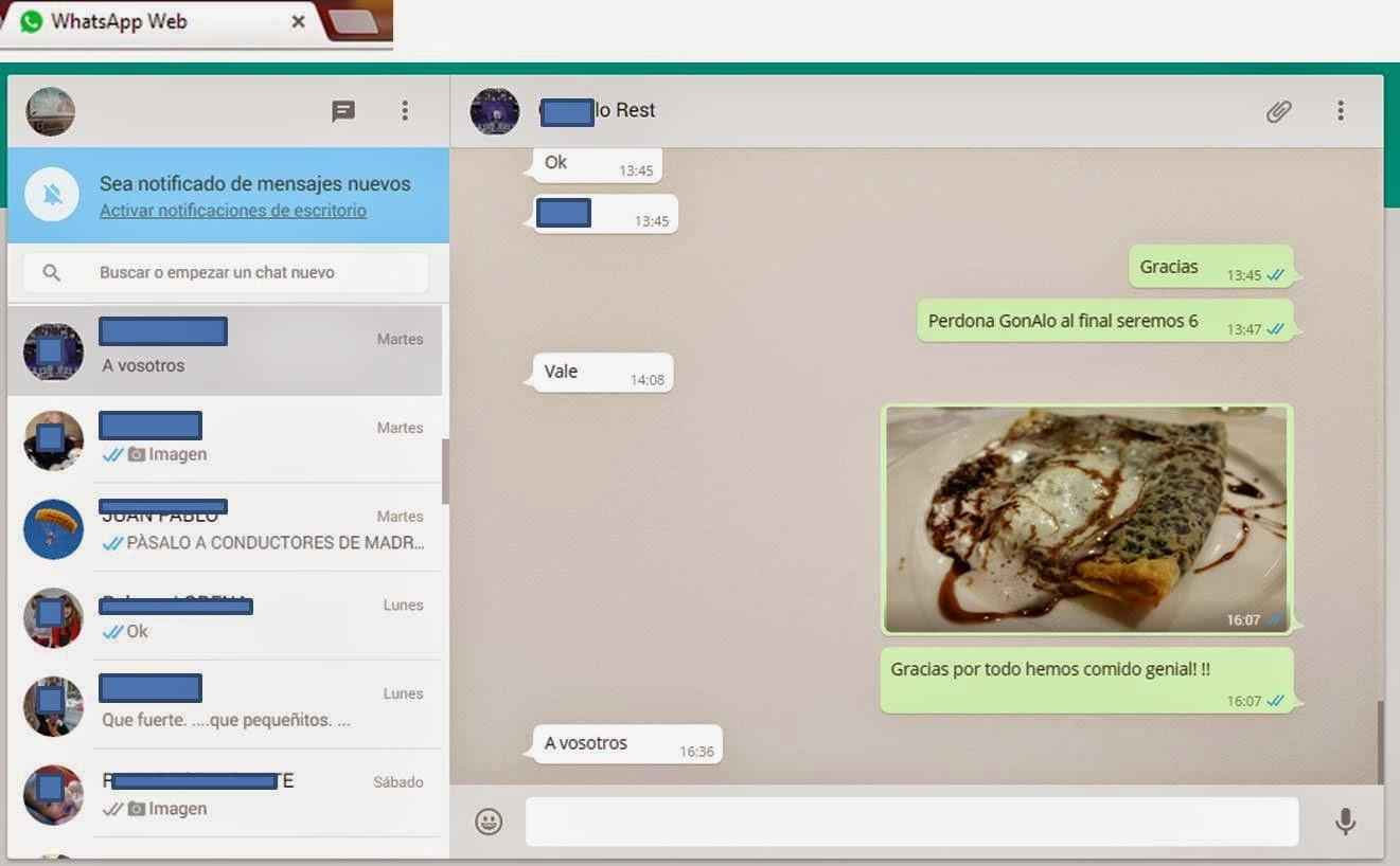 WhatsApp Web en PC