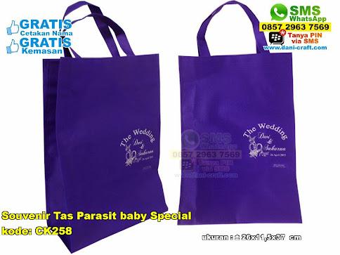 Souvenir Tas Parasit Baby Special