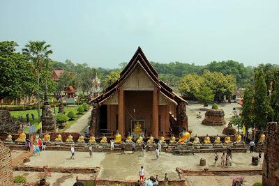 Wat Yai Chaya Mongkol (Ayutthaya, na Tailândia)