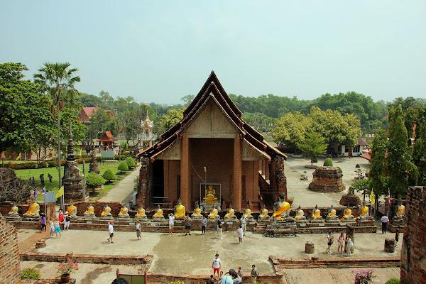 Wat Yai Chaya Mongkol (Ayutthaya, Tailandia)