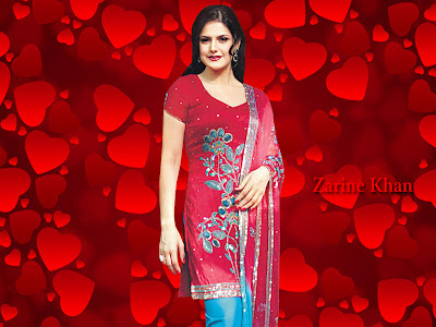 Zarine Khan Beautiful Wallpapers 2012