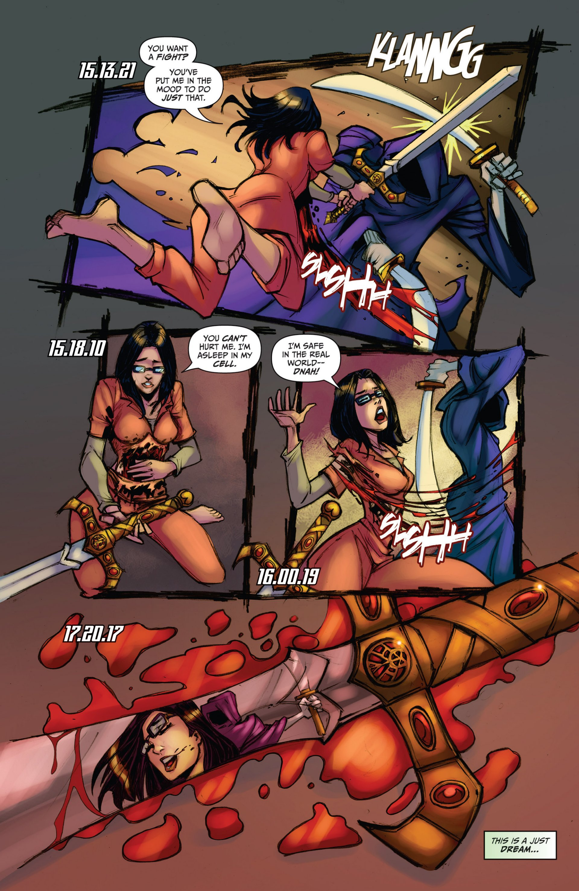 Grimm Fairy Tales (2005) Issue #78 #81 - English 19