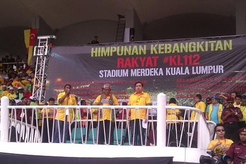 terkini Himpunan Kebangkitan Rakyat (HKR) 12 Jan 2013 (23 Photo