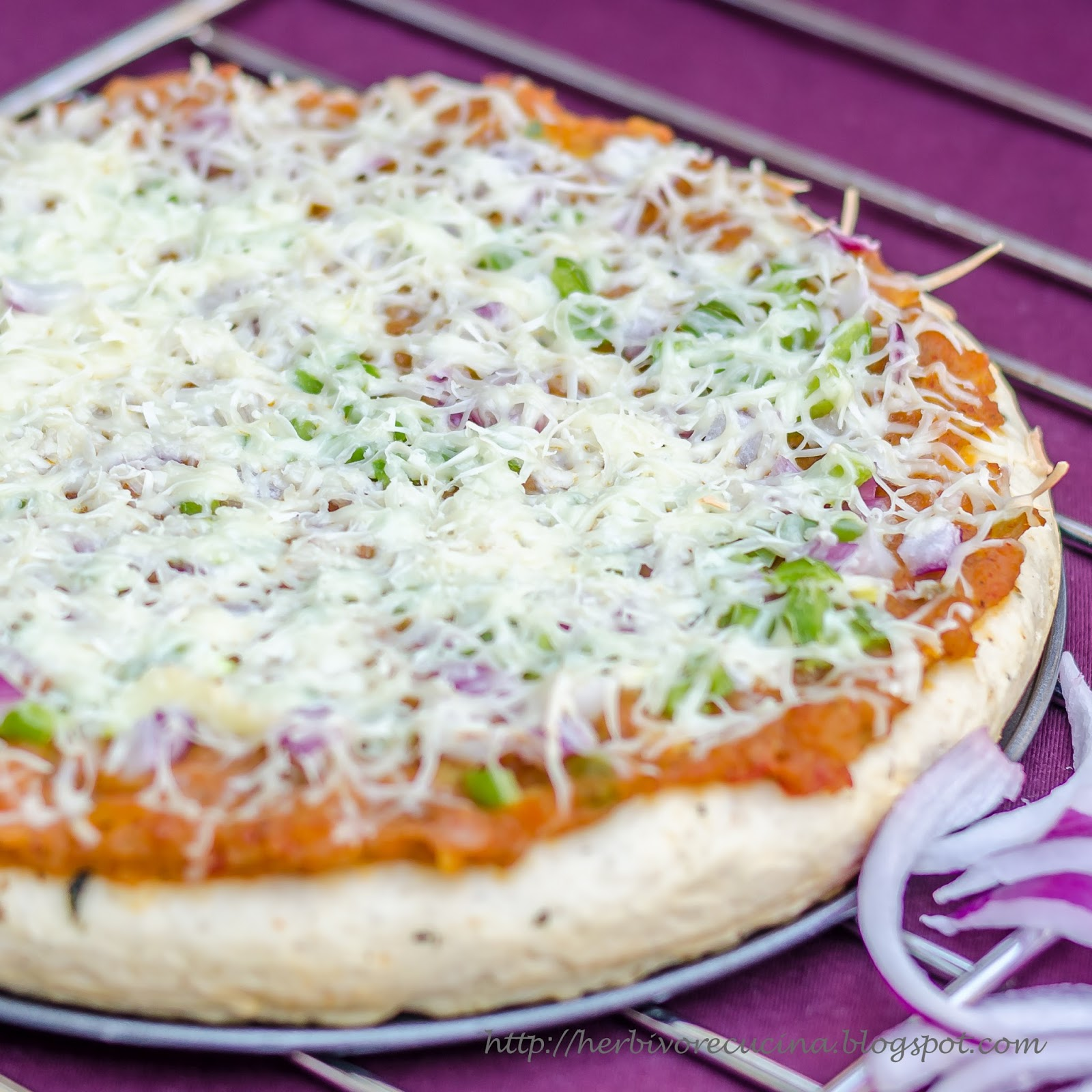 Herbivore Cucina: Pav Bhaji Pizza