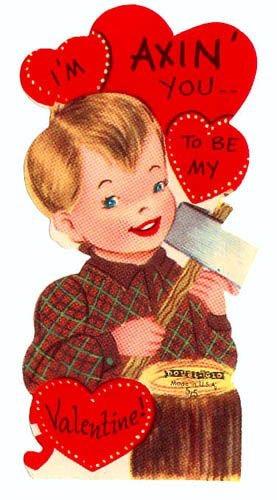 Creepy Vintage Valentineu0027s Day Greeting Cards