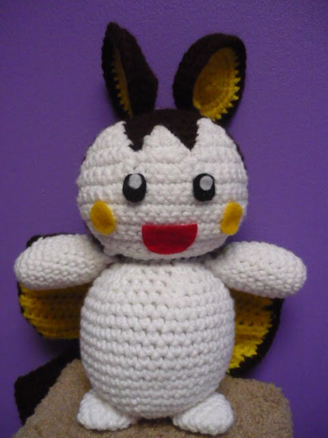 Tiffany Can Crochet Emolga Pattern