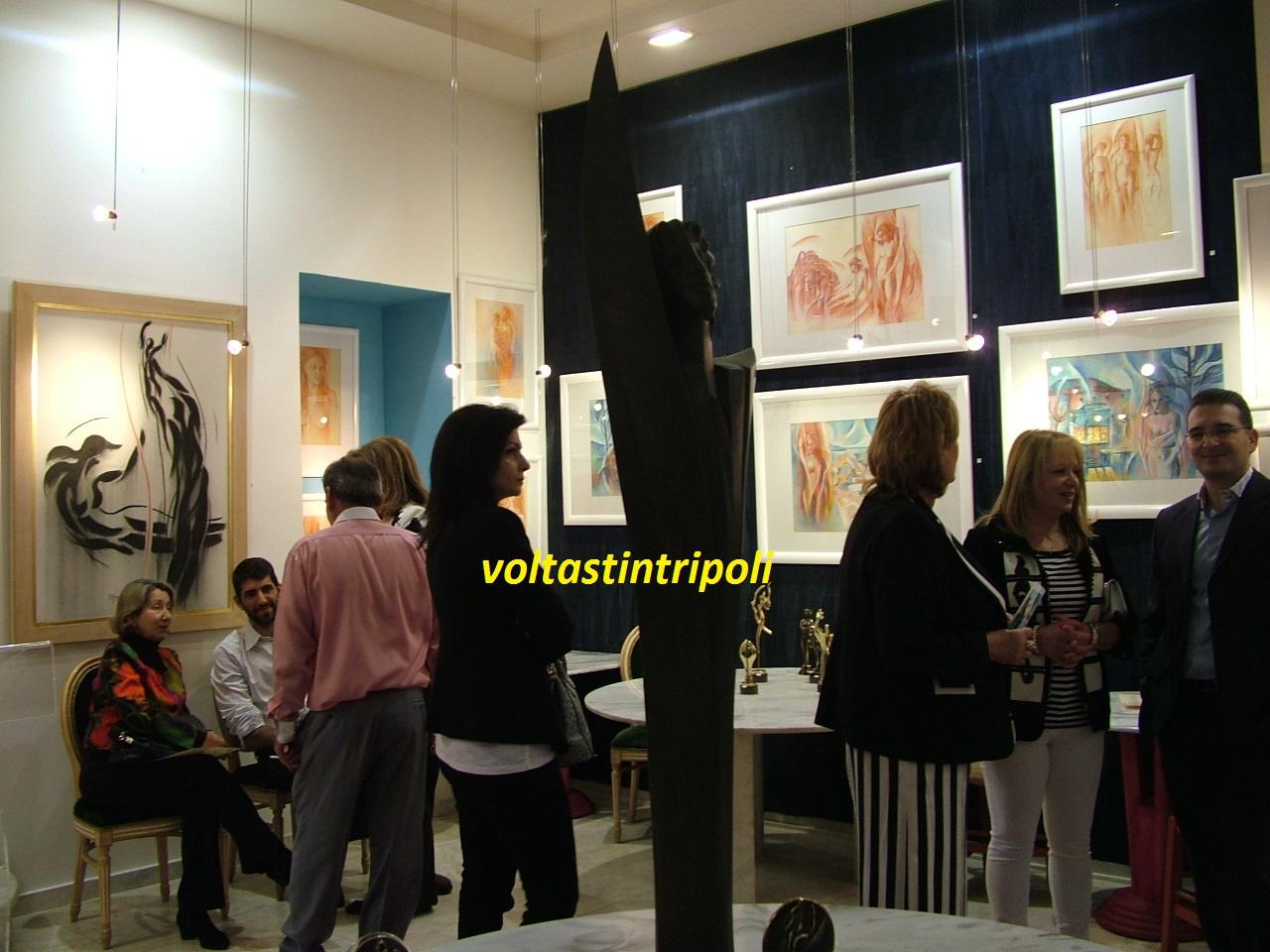 Εγκαινιάσθηκε η Έκθεση έργων του Παύλου Άγγελου Κουγιουμτζή με συναυλία