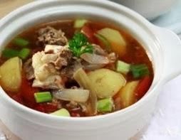 Resep Masakan Sup Tomat Sosis Enak serta Sehat