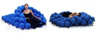 Desain tempat tidur unik - molekular bed kabarunik
