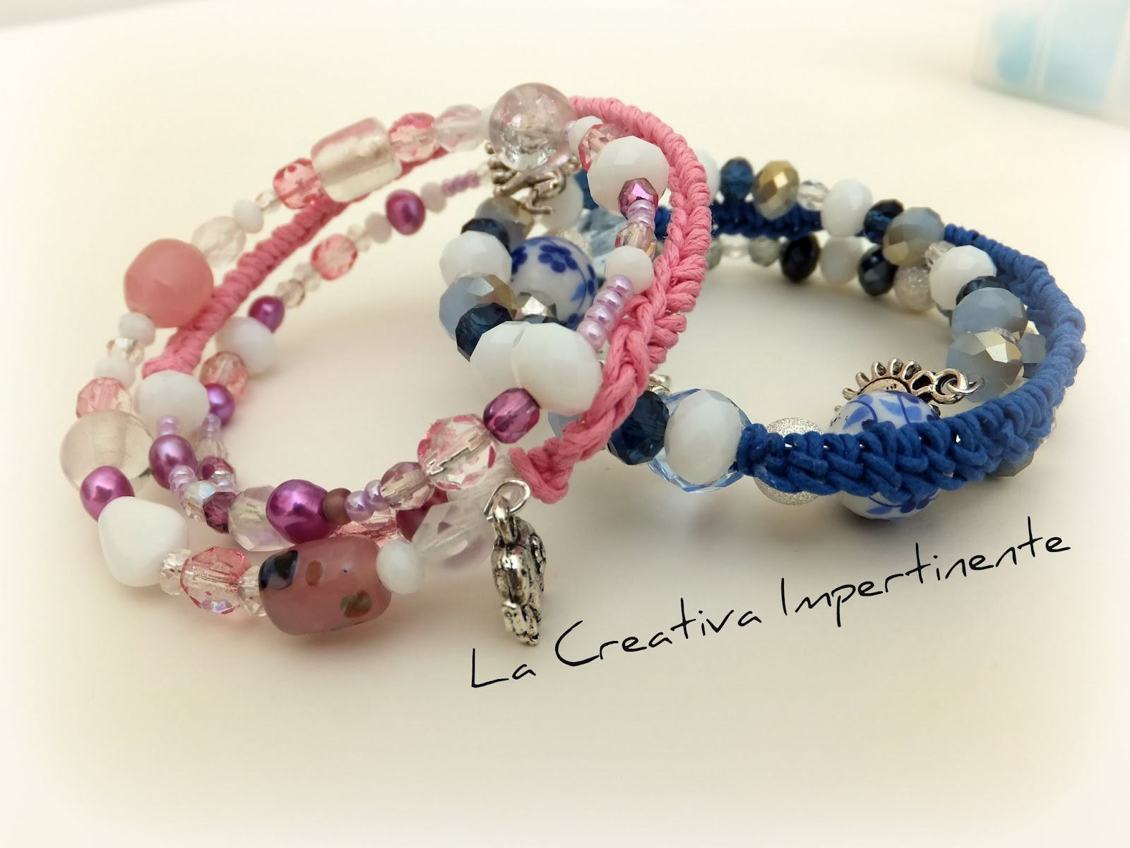 Amato La Creativa Impertinente: Tutorial: come realizzare un bracciale  VG69