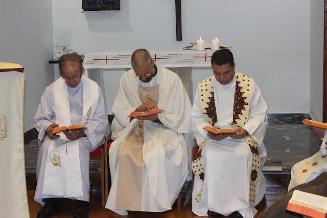 Anastasio en la Convivencia sacerdotes