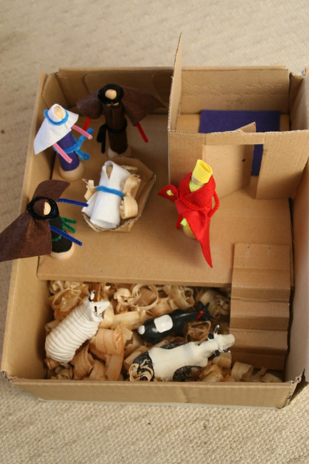 Create With Your Hands Small World Play Nativity Scene