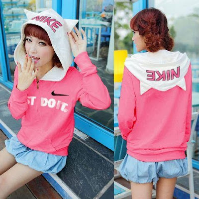 Jacket / Sweater Jaket Just Do It - 9169