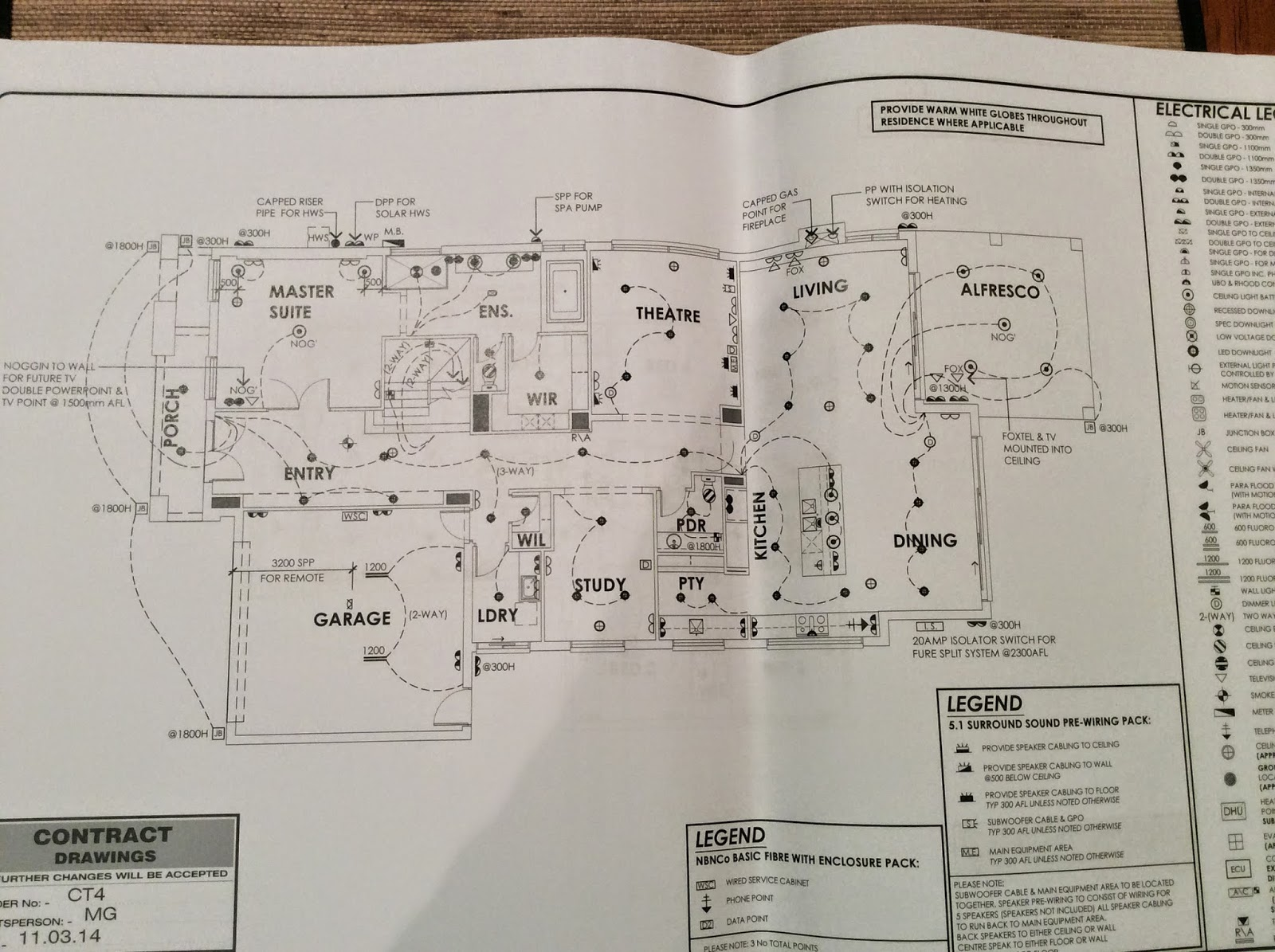 Building Nelson Electrical Plan Grounding First Floor