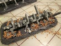 Warhammer 40k Barricades