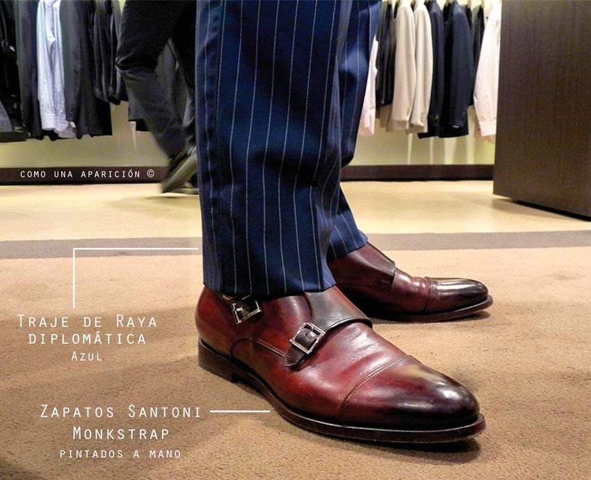 como-una-aparición-moda-masculina-fashion-men-suits-traje-lana-italiana-raya-diplomática-azul-marino-santoni-monkstrap-shoes-hand-made-luxury-men-shoes