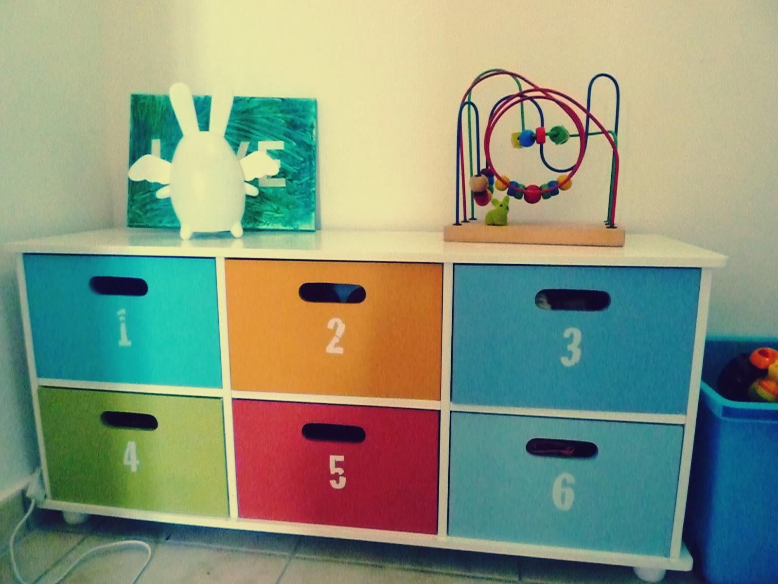 Initiales gg ... : avant/après, la chambre de mon fils !
