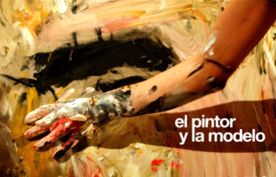 el pintor y la modelo