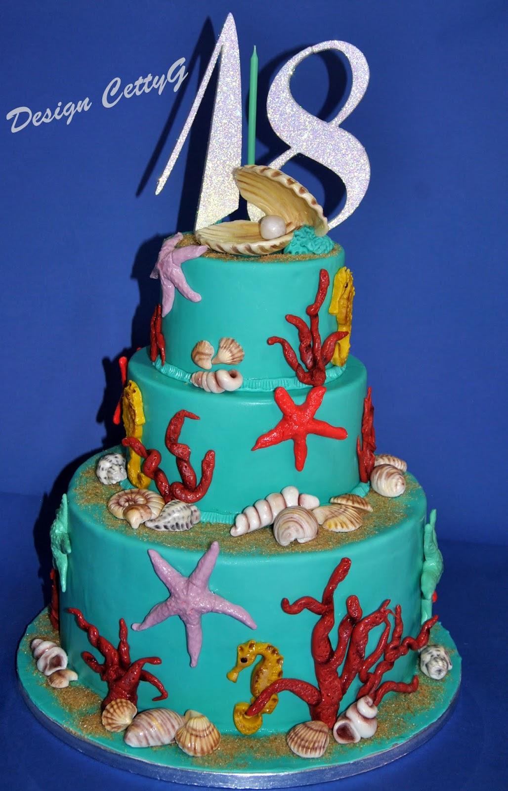 Compleanni 18 anni a tema ns07 regardsdefemmes for Decorazioni torte tema mare