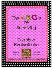 The ABC's of Surviving Teacher Evaluations
