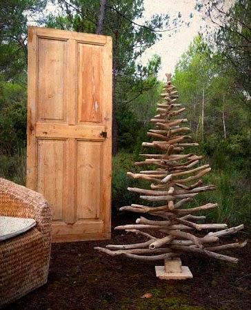 Arboles de navidad con madera reciclada i parte - Arboles de navidad de madera ...