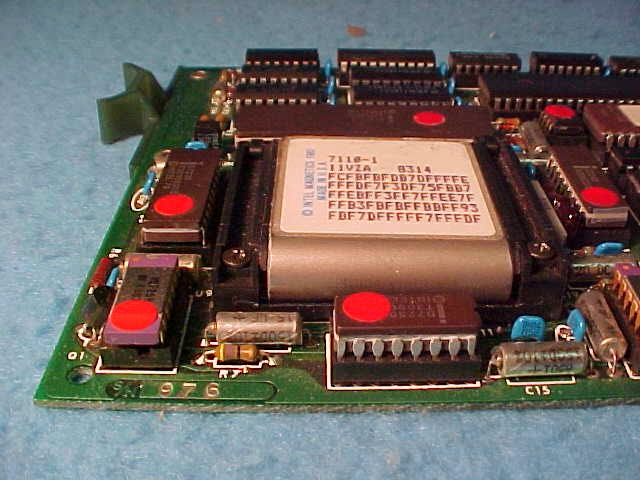 Magnetic bubble memory module