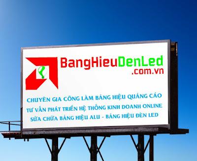 công ty quảng cáo bảng hiệu đèn led