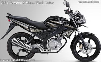 Yamaha Vixion 2011 Black
