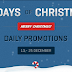 Merry Christmas 2011: Daily Promotions From Woothemes