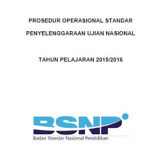 Draft POS Ujian Nasional Tahun 2016