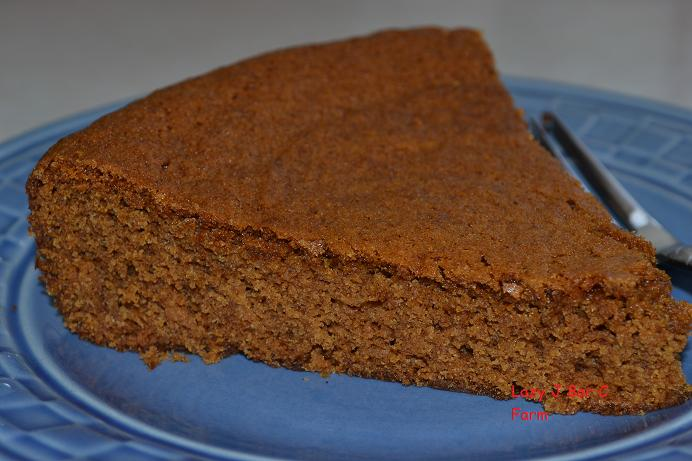 Applesauce molasses cake recipe